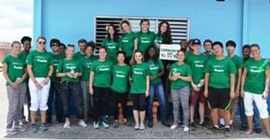 Grupo de Voluntarios en Jamaica