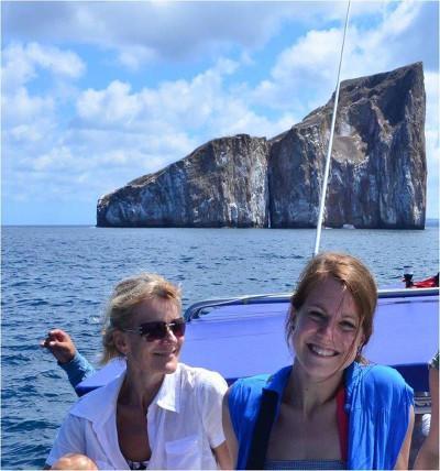 Manon et Béatrice en excursion