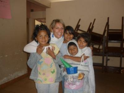 Agnès et les enfants