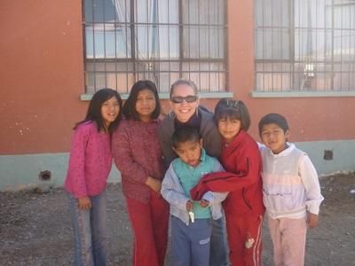 Enfants en Bolivie