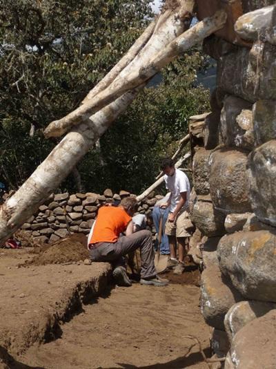 Archéologie, Pérou, par Alexis Blanchard