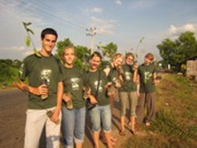 Sri Lanka avec d'autres volontaires