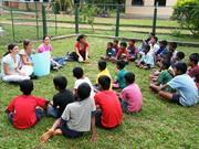 Activités avec les enfants - Sri Lanka