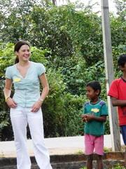 Amélie Blard - mission humanitaire Sri Lanka