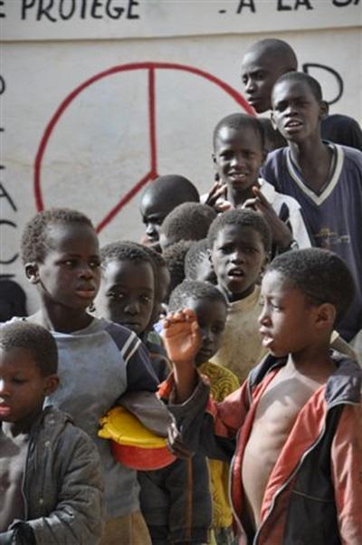 Centre d'accueil pour enfants des rues au Sénégal