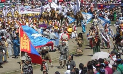 Nadaam festival en Mongolie