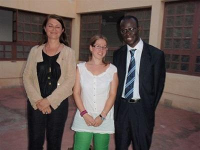 Aurore en stage Droits de l'Homme au Sénégal