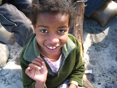 Enfant réfugié