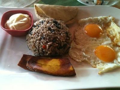 Cuisine du Costa Rica