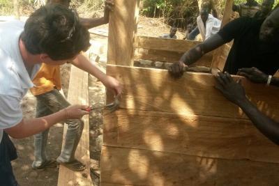 Construction de l'usine de savon