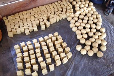 Fabrication des savons