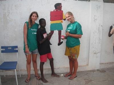 Aider au centre pour enfants au Togo