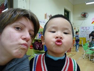 Carole en mission humanitaire au Vietnam