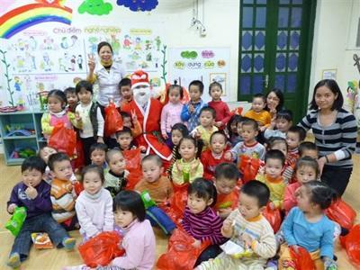 Le Père Noel au Vietnam