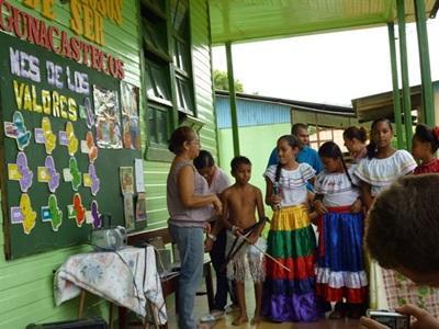 Aide auprès des communautés locales Costa Rica