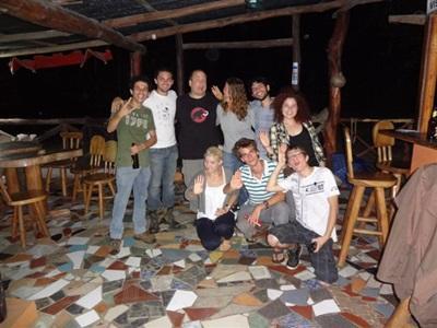 Ambiance de volontaires Costa Rica