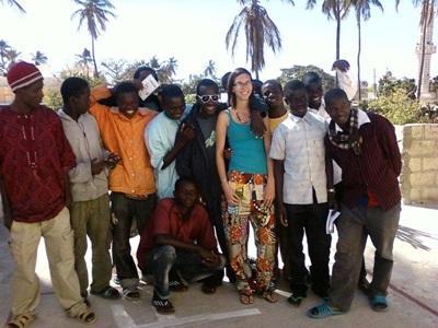 Mission humanitaire, Sénégal par Céline Chérouvrier