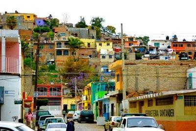 Ville colorée mexicaine