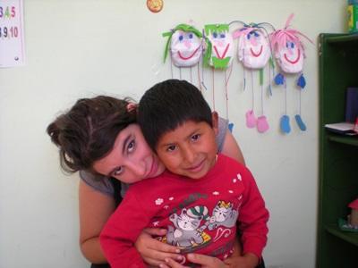 Charlotte Goût en Bolivie