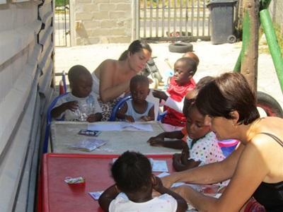 Partir à deux, mère et fille, sur une action humanitaire