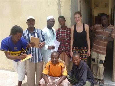Chloé et les sénégalais