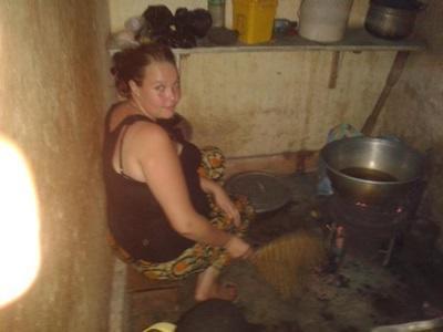 Aide à la cuisine au Togo