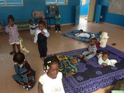 Bénévolat dans une creche en afrique
