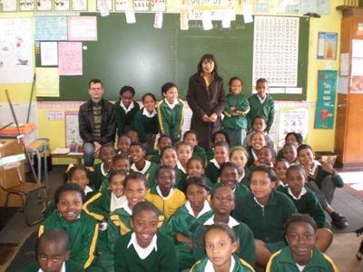 Afrique du Sud, mission humanitaire par Clément Pilchen