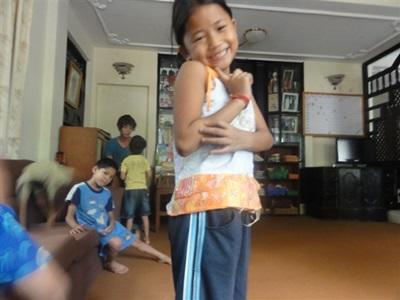 Dans le centre de soins au Népal