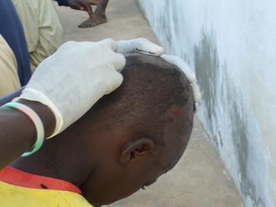 Mission humanitaire, Sénégal par David Montenegro