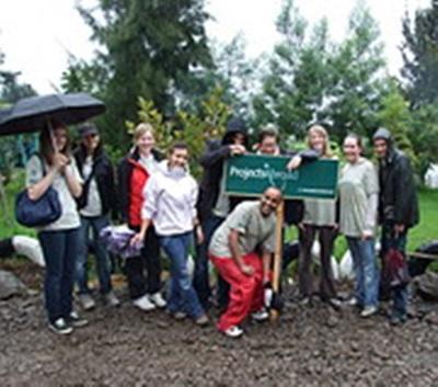 Le groupe de volontaires. David Genty, Ethiopie