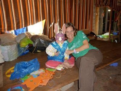 Delphine en mission humanitaire au Vietnam