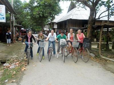 Volontaires en week-end au Vietnam