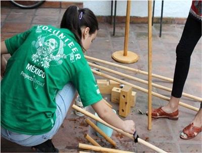 bénévole dans un centre pour enfants en Amérique Latine