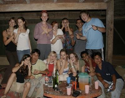 Le groupe de Taricaya