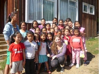 Mission humanitaire, Mongolie par Emma Lieser