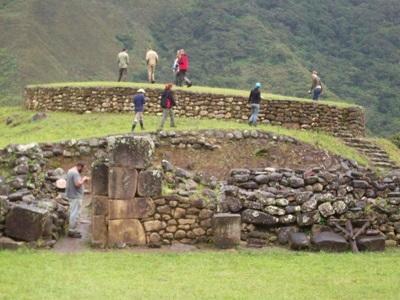 Premiere ruine visitee