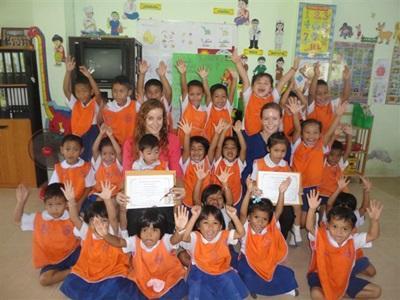 Aider dans un orphelinat en Thailande