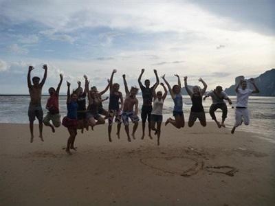 Volontaires en ecovolontariat en Thailande