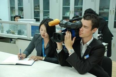 Journalisme, Mongolie par Florent