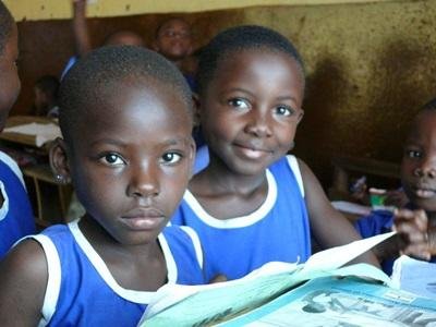 Action humanitaire école au Ghana