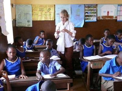 Mission de volontaire en écoles au Ghana