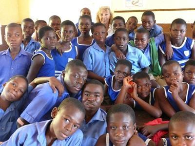 Soutien scolaire bénévole en Afrique de l'Ouest