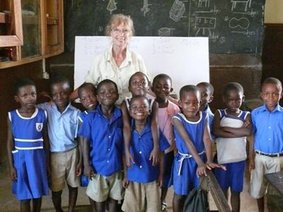 Volontaire enseignante de français au Ghana