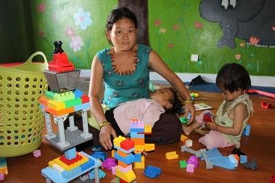 Mission en orphelinat en Asie