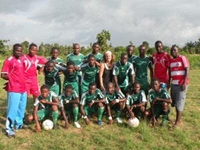 Fred et l'équipe de foot