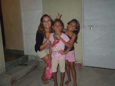 Fylicia en misison enseignement au Costa Rica