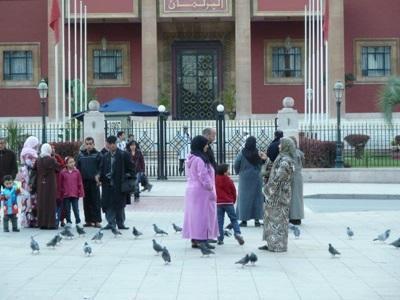 Stage en droits de l'Homme,  Maroc, par Gaultier Brillat