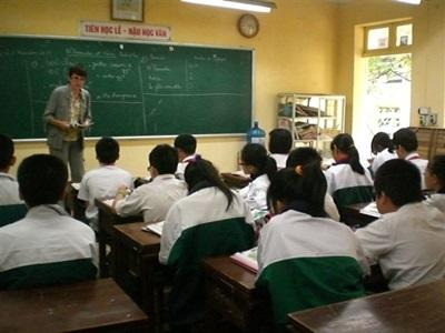 Hélène en mission enseignement au Vietnam