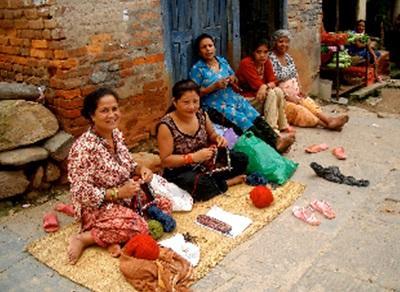 Népal  scène de rue